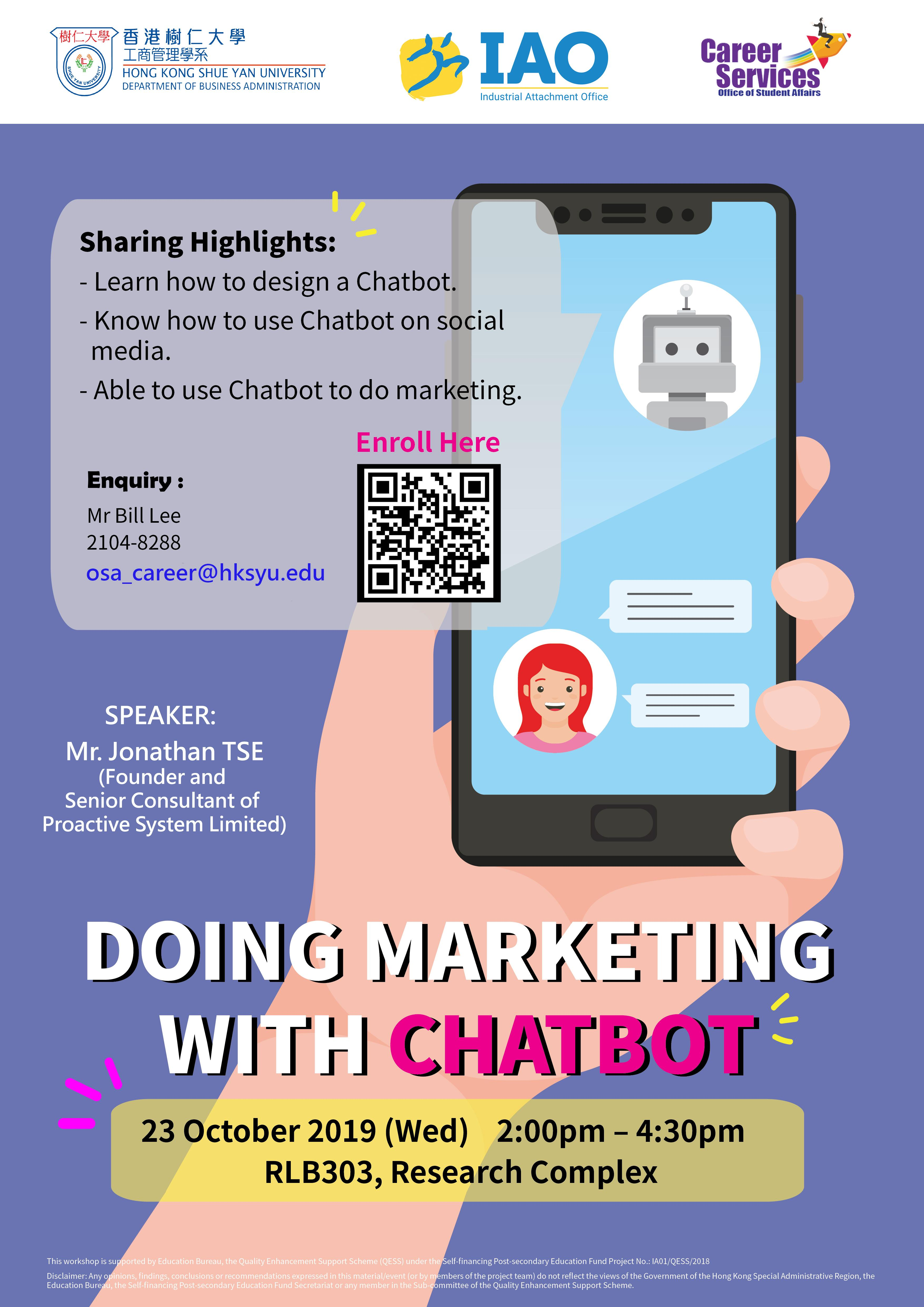 Doing Marketing With Chatbot