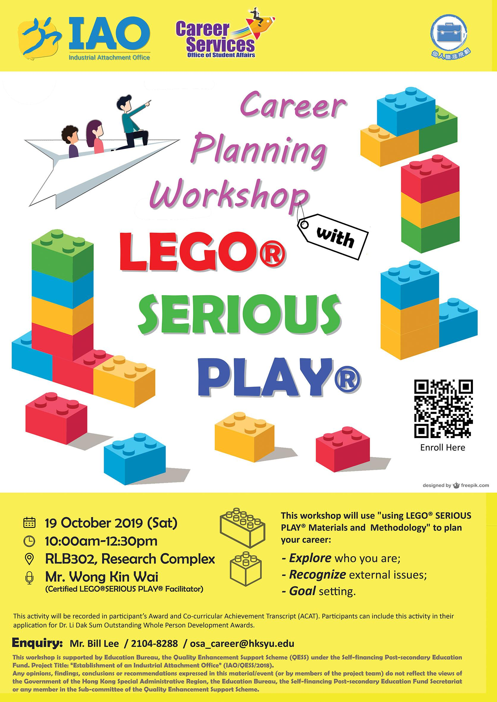 Career Planning Workshop: LEGO® Serious Play®