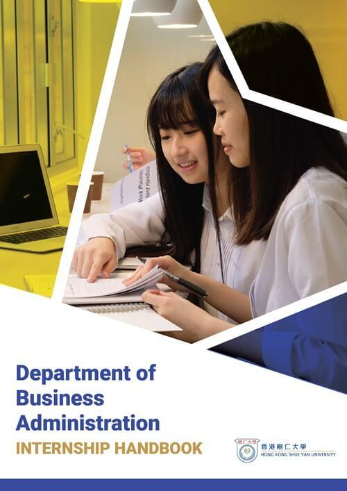 Department of Business Administration - Internship Handbook