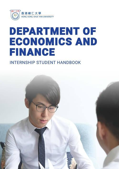 Department of Economics and Finance - Internship Student Handbook