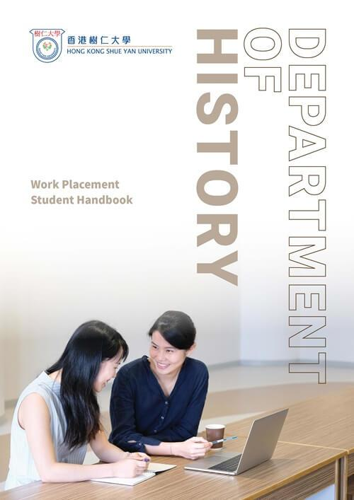 Department of History - Work Placement Handbook