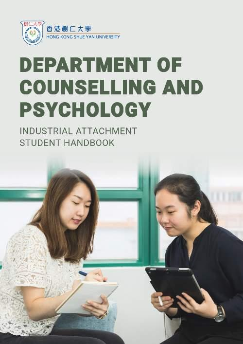 Department of Counselling & Psychology - Industrial Attachment Student Handbook