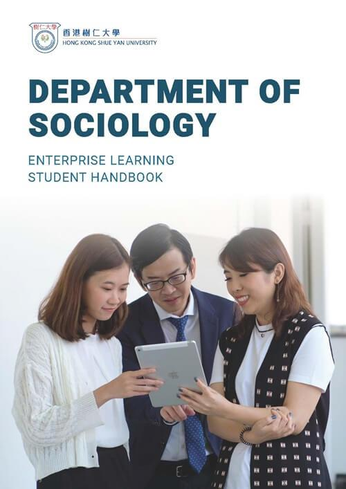 Department of Sociology - Enterprise Learning Student Handbook